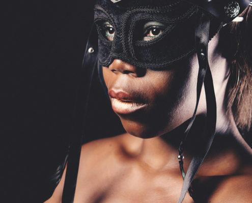 Foto Shooting die Maske